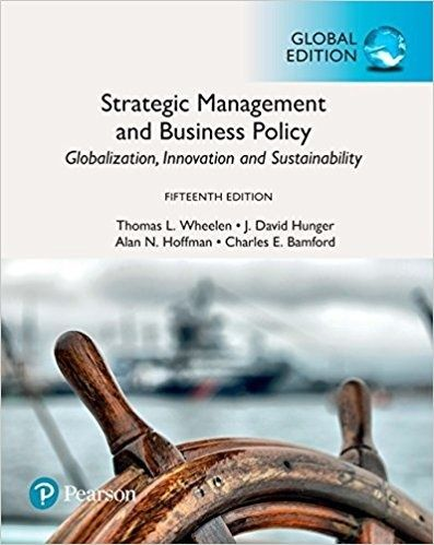 Strategic management and business policy globalization innovation strategic management and business policy globalization innovation and sustainability 15th edition pdf fandeluxe Image collections