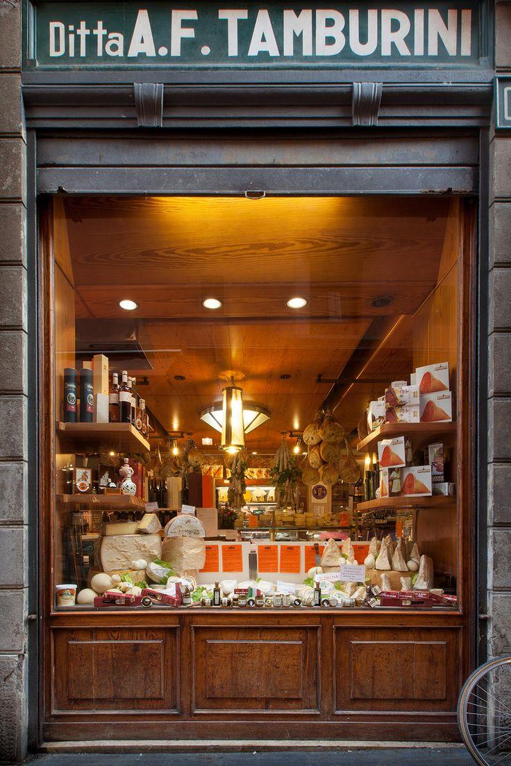 Tamburini- lunch, produce shop, Aperitivo.