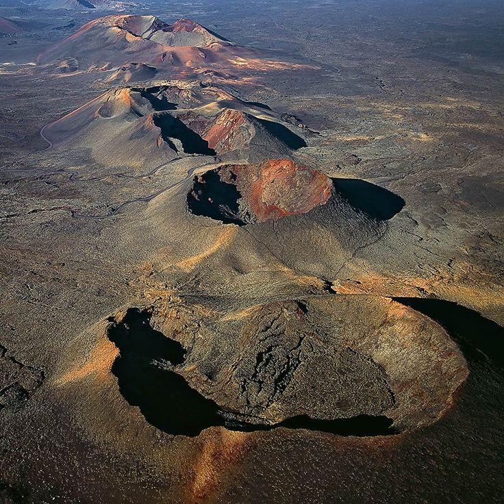 volcanoes- Montanas del Fuego, Lanzarote, Canary Islands.