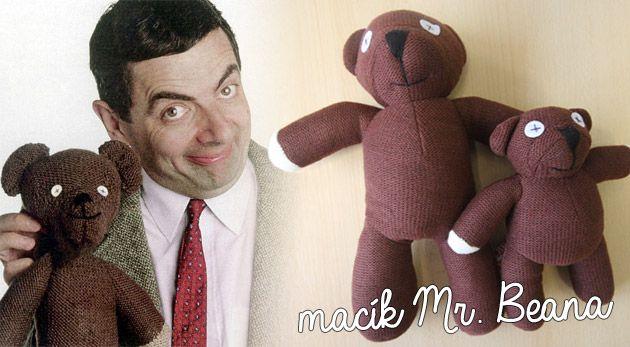 Medvedík Mr. Beana – plyšová filmová hviezda pre deti aj dospelých, ktorá vás nikdy neopustí.