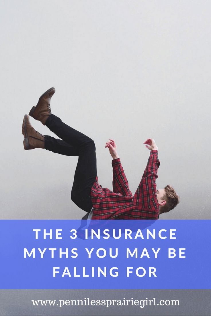 Don't fall for insurance myths! Check out the top 3 insurance myths you may be falling for.