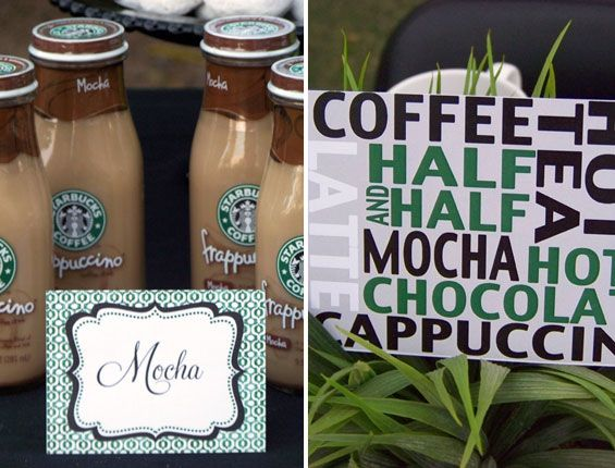 1000 Images About Starbucks Coffee Birthday Party D On