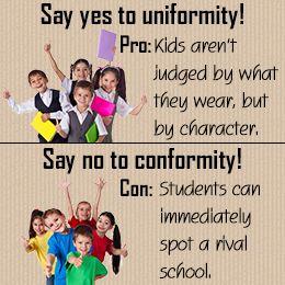 school uniforms good or bad