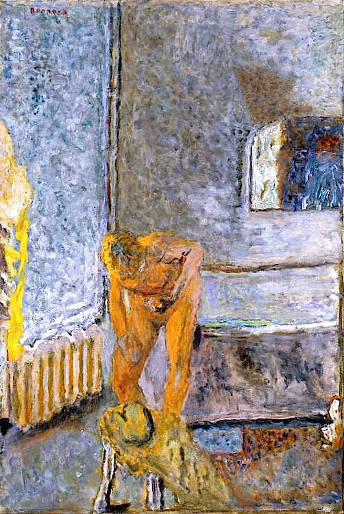Nude in an Interior / Pierre Bonnard