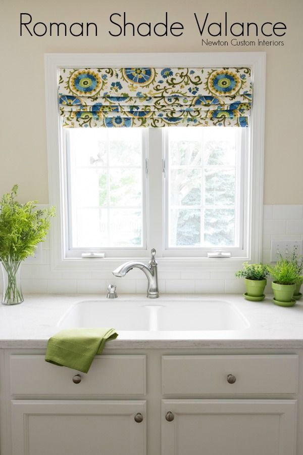 1000 images about favorite places spaces on pinterest for Fabric shades for kitchen windows