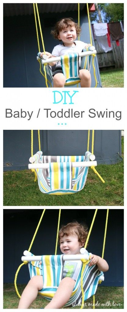 Looking for a baby / toddler swing that is bright, fun, safe & is easy to make too? Then why not give this one a go, a little bit of sewing knowledge and DIY know how is all you need