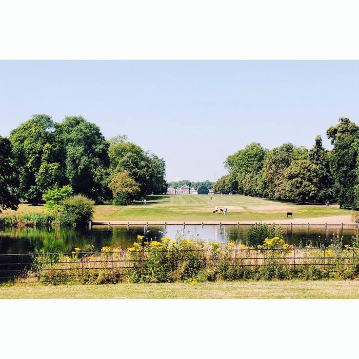 #bythelake #kensigtonpark #london #visionlondon #instagood #instahub #vscocam #july #sunnyday #lovelyview #palace…