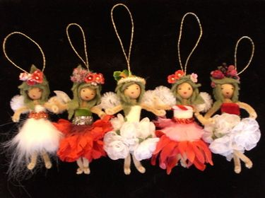 Pipe cleaner fairies. More pretty/personal than the Disney variety.--fairy in a jar?