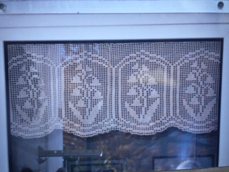 1000+ Ideas About Crochet Curtain Pattern On Pinterest