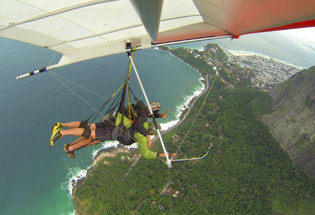 Hang Gliding - Tandem Flight | Asa Delta - Voo Duplo - Rio de Janeiro