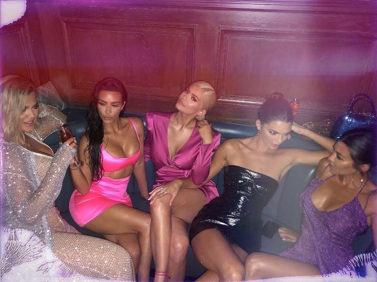 Kylie Jenner's 21st birthday, as seen on Instagram
