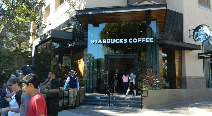 Starbucks Opens New Store in Downtown Disney Today