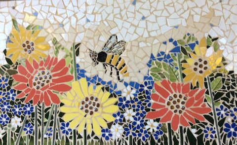 So How Much Grout Do You Need For Your Mosaic Project? Click Here to find out + Get Some Fantastic Tips on Grouting! http://www.themosaicstore.com.au/blogs/news/36732997-how-much-grout-do-i-need-for-my-mosaic-project Garden Inspiration by Arlene