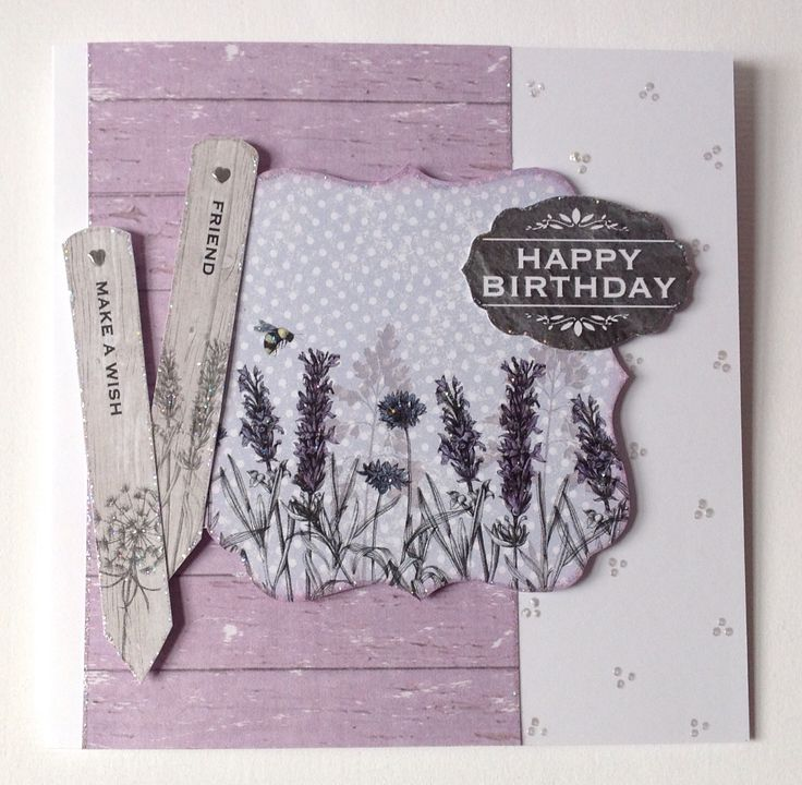 Card designed by Julie Hickey using Potting Shed II collection.