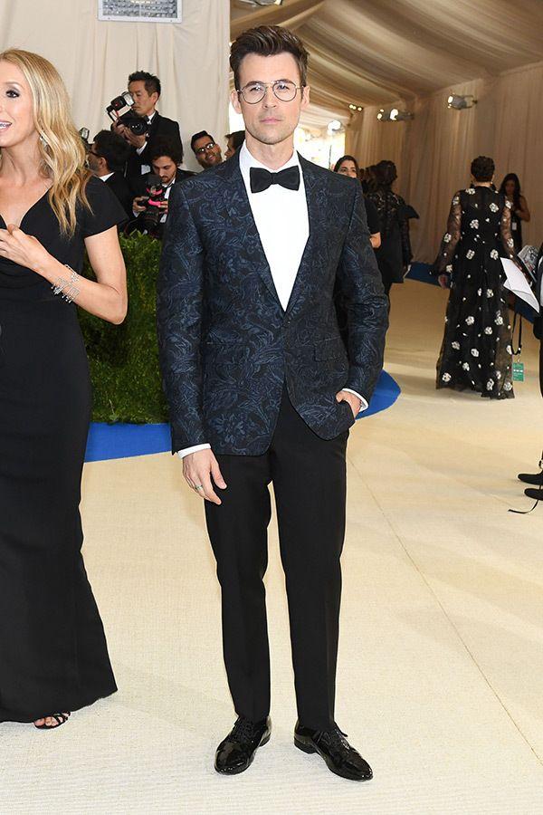 Brad Goreski at The Met Gala.