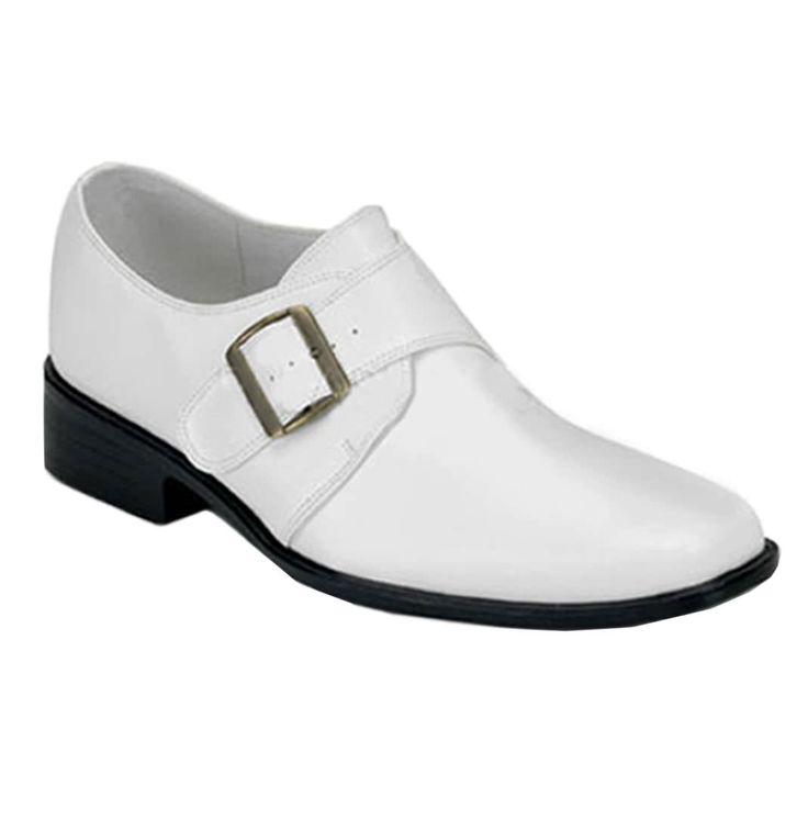 Mens White Loafer Shoe