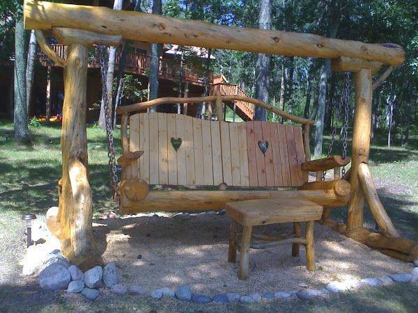 Pics Of Log Furniture | Plaszcraft Rustic Log Furniture And Accessories