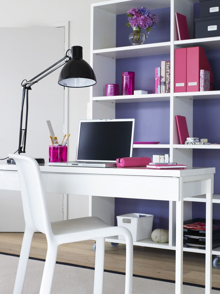 Clean up your desk -- and keep it that way. #organizing #springcleaning