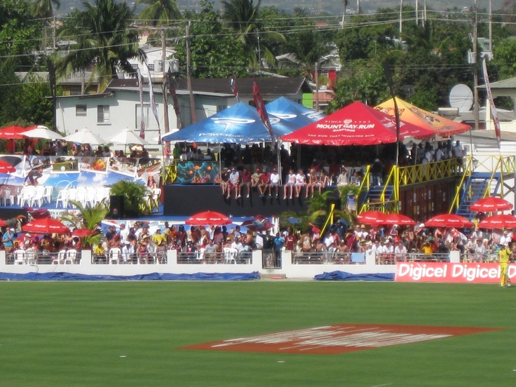 Watching cricket in Barbados is colourful affair