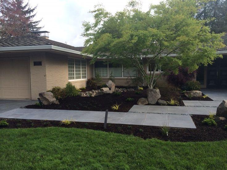 Mid Century Modern Landscape Design | Ross NW Watergardens ...