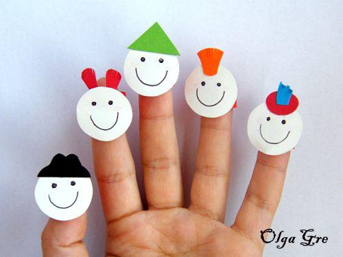 Пальчиковая открытка с ребенком своими руками, картинках надписью