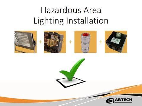 The complete hazardous area lighting installation - YouTube