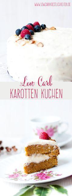 LowCarb Karotten Kuchen #lowcarb #lchf #zuckerfrei #glutenfrei #abnehmen #grainfree #sugarfree #carrotcake www.lowcarbkoestlichkeiten.de
