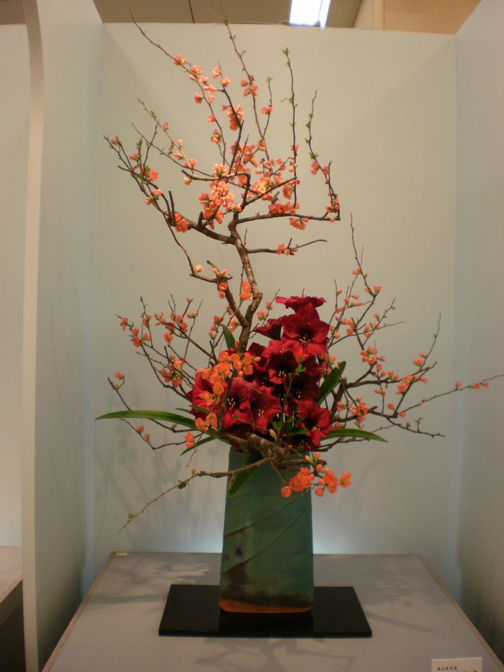 Japanese flower arrangement 19, Ikebana: いけばな | Flickr ... Asian Flower Arrangements