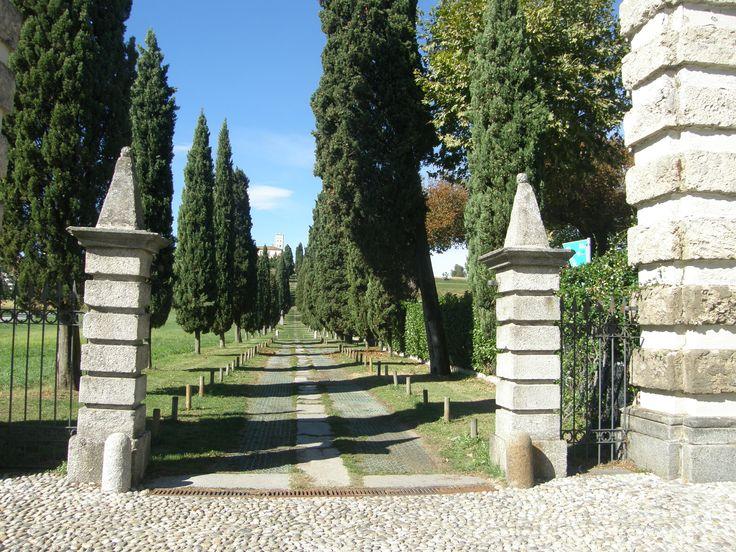 """Ingresso Villa Crivelli di Inverigo o """"Viale dei cipressi"""""""
