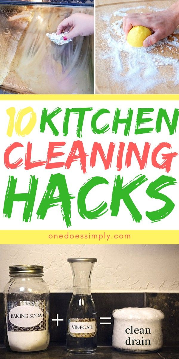 10 Kitchen Cleaning Hacks To Soothe Your Inner Clean Freak One Does Simply In 2020 Kitchen Cleaning Hacks Easy Cleaning Hacks Cleaning Hacks
