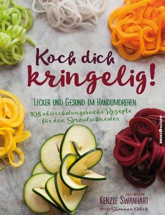 Koch dich kringelig! Eine #Küche ohne #Spiralschneider vorstellbar. #Rezepte, bei denen der #Spiralschneider zum Einsatz kommt und ungesunde #Kohlenhydrate durch #Gemüse ersetzt werden. Ob #Frühstück, #Salat oder #Hauptgericht, ob #Vegetarier, G#lutenfrei-Esser oder #Paleo-Anhänger – hier wird jeder fündig. Raffinierte Gerichte – mit #Möhren, #Süßkartoffeln, #Kürbis oder #Zucchini. Tipps für #Spiralschneider und #Ratschläge, welche #Lebensmittel sich besonders gut zum #Spiralisieren eignen.