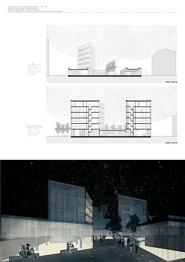 58 best space board images on pinterest architectural for Design hostel milano