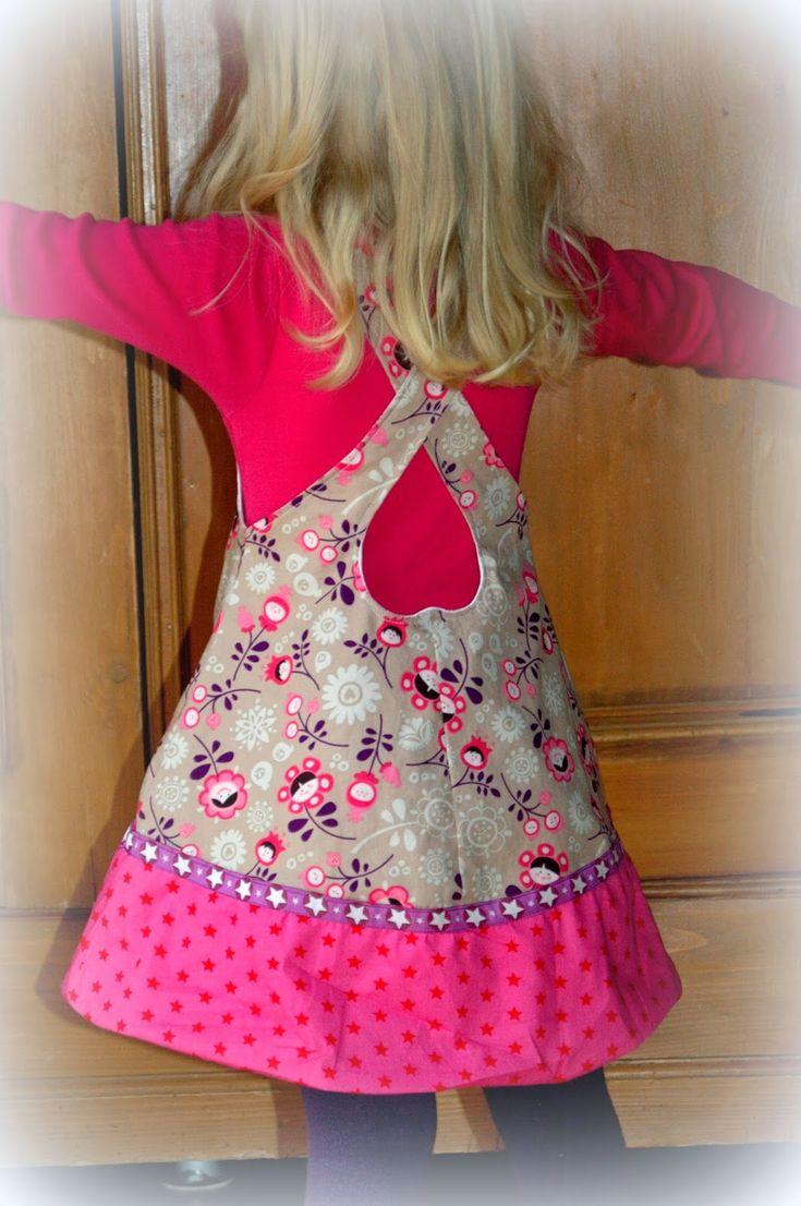 Freebook Herzgewand - süßes Mädchenkleid 80-134