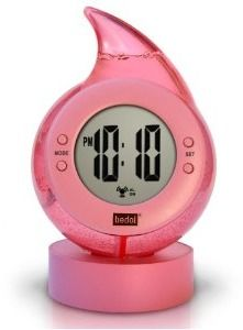 Water Powered Clock: Clocks Pink, Cool Clocks, Alarm Clocks, Drop Clocks, Digital Clocks, Water Power, Bedol Water, Clocks Thi Museums, Power Clocks Thi
