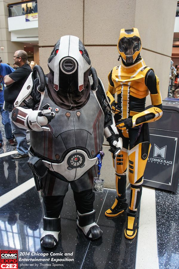 Mass Effect 3 Salarian and Volus