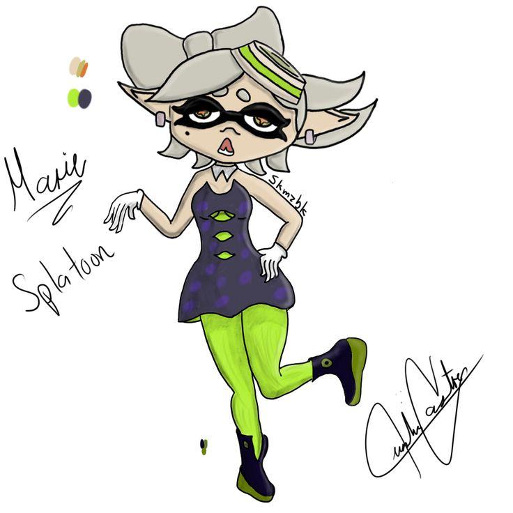 Marie la chica calamar de splatoon