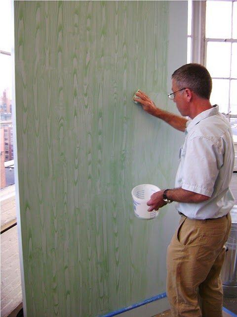 71 best faux bois images on pinterest room tiles subway for Faux bois painting technique