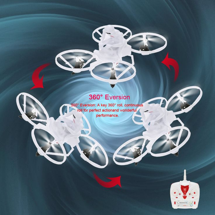 original create toys e902 2.4g 4ch six-axis gyro prober aerial drone 3d flips cf mode auto-return rtf rc quadcopter