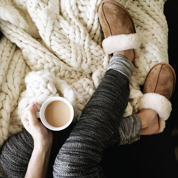 Staying cozy indoors wearing #UGG? We can't blame you!