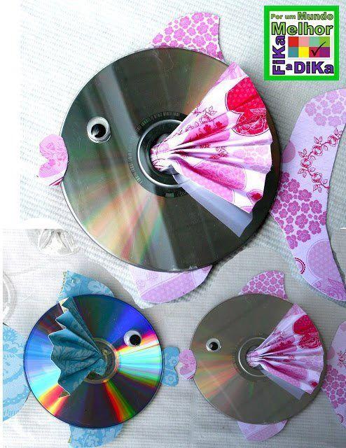 Decorando com CDs