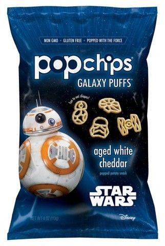 pop chips Popchips® Star Wars Galaxy Puffs White Cheddar Popped Potato Snacks - 4oz