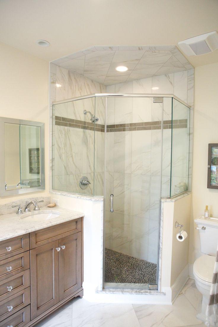 Best 25 neo angle shower ideas on pinterest corner - Bathroom shower enclosures ideas ...