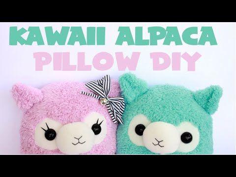 Kawaii Alpaca Pillow Tutorial - YouTube