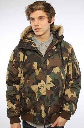 #Karmalooop #Fashion  Use rep code:XLOOP for 20% off   Retail:$170.00  The #Root #Down #Jacket in #Army #Camo by #LRG