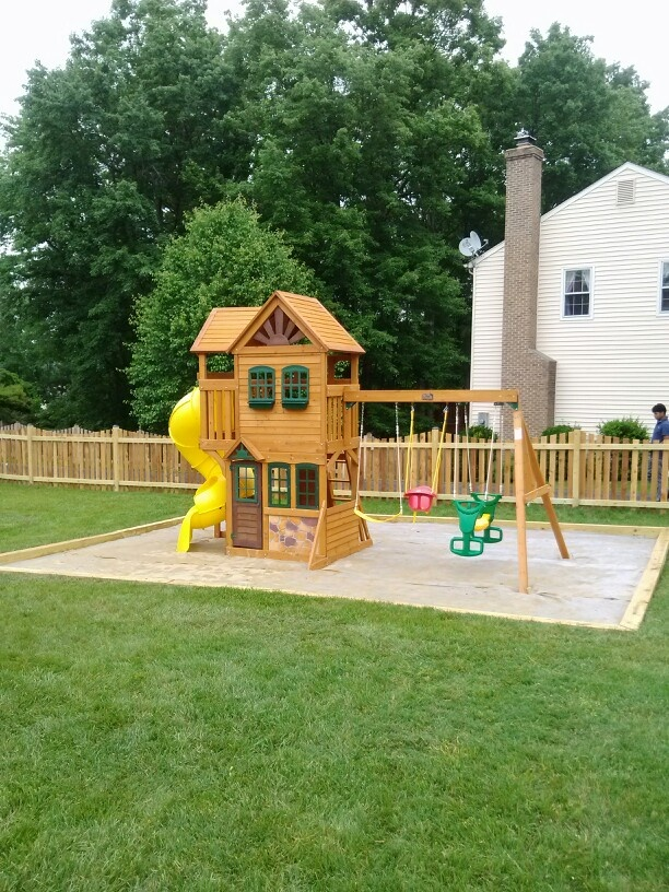 Huge Backyard Playsets : Big Backyard Goldenridge Deluxe Playset from Toys R Us installed in