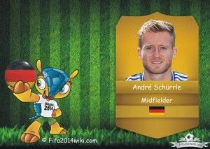 Andre Schurrle - Germany Player - FIFA 2014