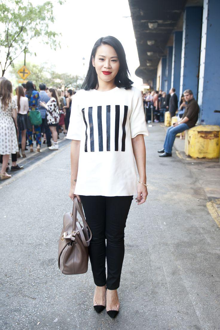 NYFW Street Style, September 10. (Credit: Raydene Salinas/HPMG)