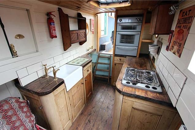 This is from a 'Dutch barge style narrowboat' I've been on this boat! It's called river otter. Beautiful