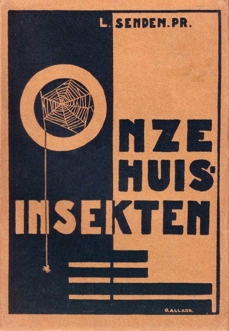 amsterdamse school boekomslagen - Google zoeken