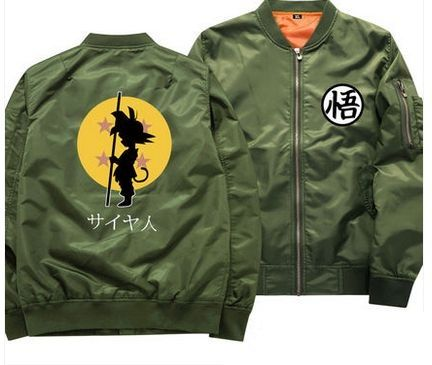 Dragon Ball z Bomber Jacket - Free Shipping Worldwide